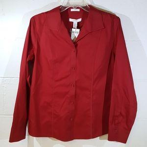 Chico's button down blouse New Medium